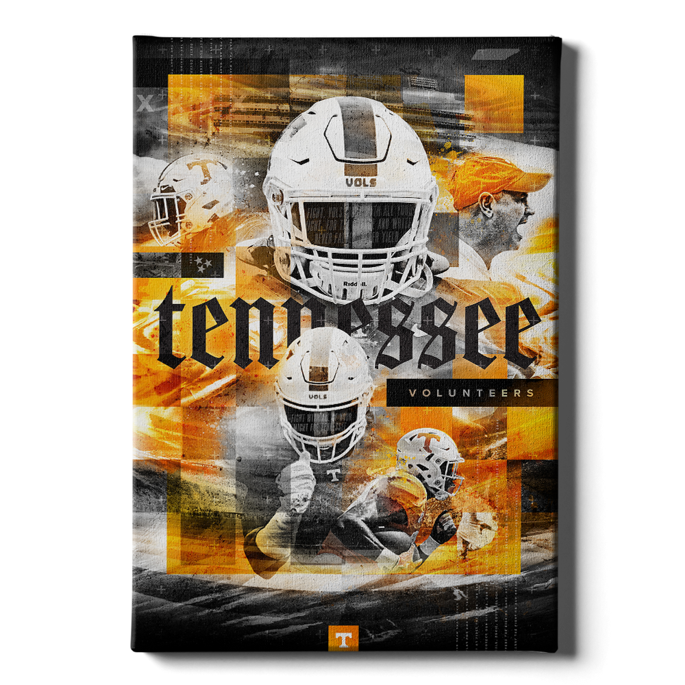 Tennessee Volunteers - Bad Ass Vols 2020 - College Wall Art #Canvas