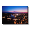 Tennessee Volunteers - Aerial sunset over Neyland - College Wall Art #Canvas