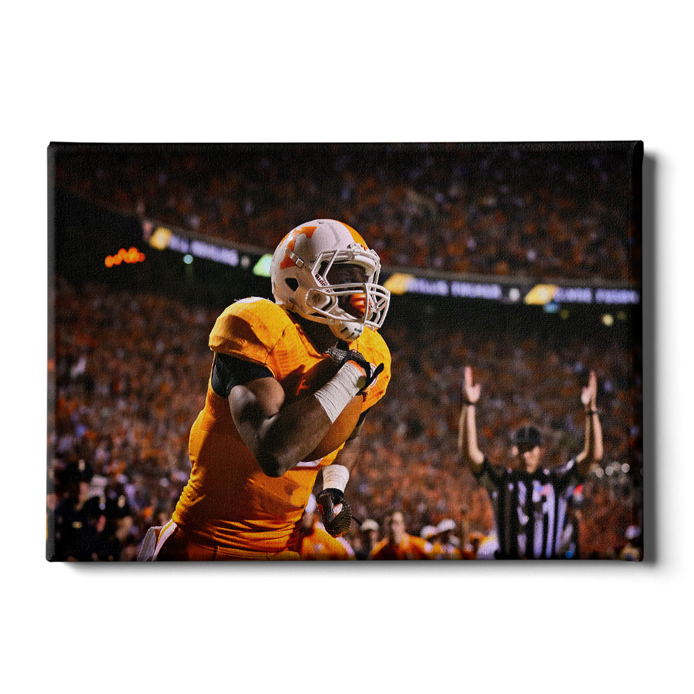 Tennessee Volunteers - Tennessee Score - College Wall Art #Canvas