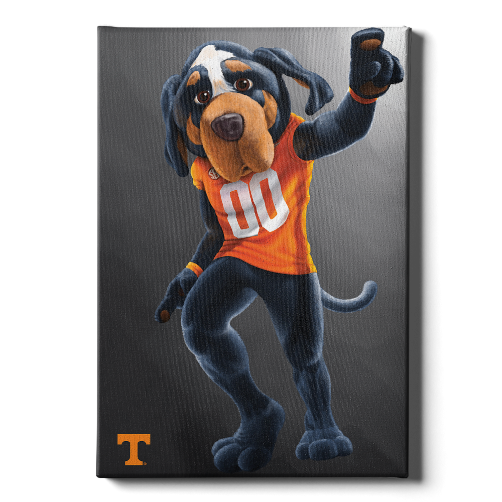 Tennessee Volunteers - Smokey - College Wall Art #Canvas