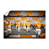 Tennessee Volunteers - Running Onto the Checkerboard Field - College Wall Art #Wall Decal