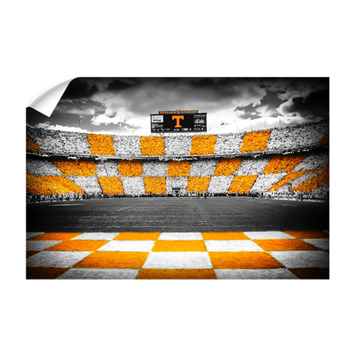 Tennessee Volunteers - Checkerboard Neyland - College Wall Art #Wall Decal