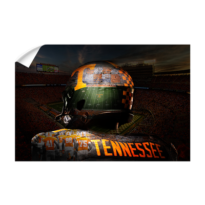 Tennessee Volunteers - TN Football - College Wall Art #Wall Decal