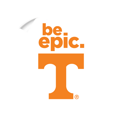 Tennessee Volunteers - Be Epic T - College Wall Art #Wall Decal