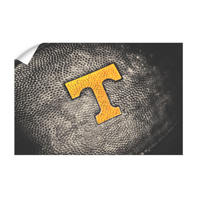 Tennessee Volunteers - Power T Football - College Wall Art #Wall Decal