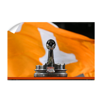 Tennessee Volunteers - BaB Trophy - College Wall Art #Wall Decal