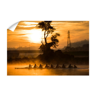 Tennessee Volunteers - Sunrise Row - College Wall Art #Wall Decal