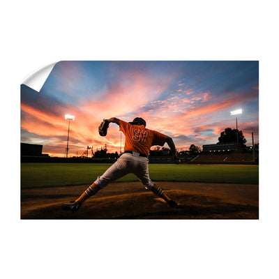 Tennessee Volunteers - Sunset Pitch - College Wall Art #Wall Decal