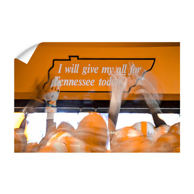 Tennessee Volunteers - Give My All - College Wall Art #Wall Decal