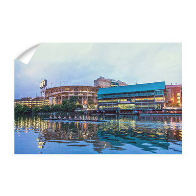 Tennessee Volunteers - Morning Row by Neyland - College Wall Art #Wall Decal
