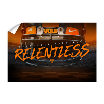 Tennessee Volunteers - Relentless - College Wall Art #Wall Decal