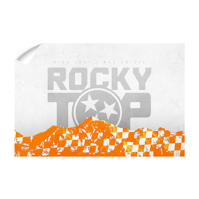 Tennessee Volunteers - On Ole Rocky Top - College Wall Art #Wall Decal