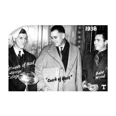 Tennessee Volunteers - Vintage Coach of the Year 1938 - College Wall Art #Wall Decal