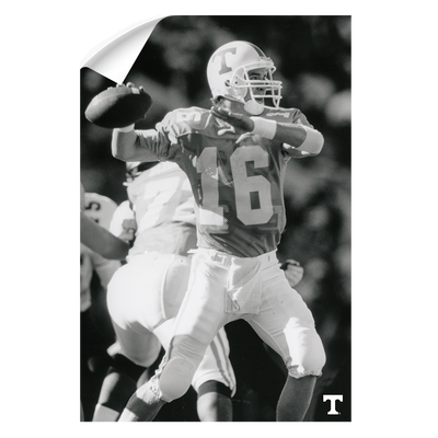 Tennessee Volunteers - Vintage Peyton Manning 2 - College Wall Art #Wall Decal