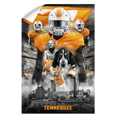 Tennessee Volunteers - This is Tennessee - College Wall Art #Wall Decal