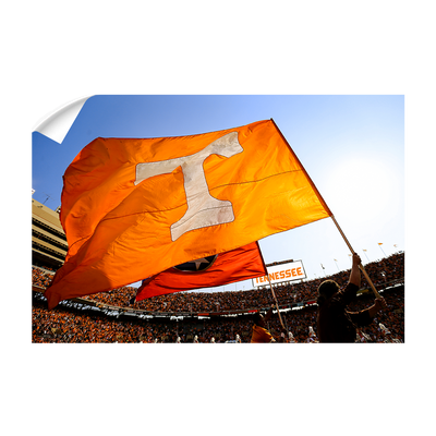 Tennessee Volunteers - T Flags - College Wall Art #Wall Decal