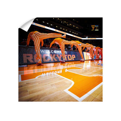 Tennessee Volunteers - Welcome to Rocky Top Basketball - College Wall Art #Wall Decal