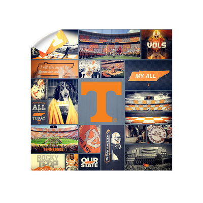 Tennessee Volunteers - Football Traditions - College Wall Art #Wall Decal