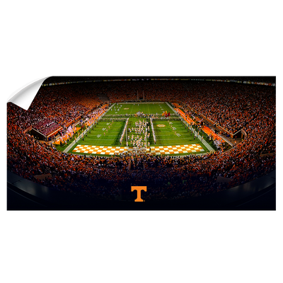 Tennessee Volunteers - Tennessee T Pano - College Wall Art #Wall Decal