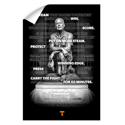 Tennessee Volunteers - Game Maxims - College Wall Art #Wall Decal