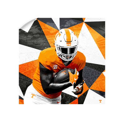 Tennessee Volunteers - Vols Run 2020 - College Wall Art #Wall Decal