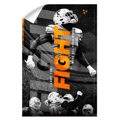 Tennessee Volunteers - Fight - College Wall Art #Wall Decal
