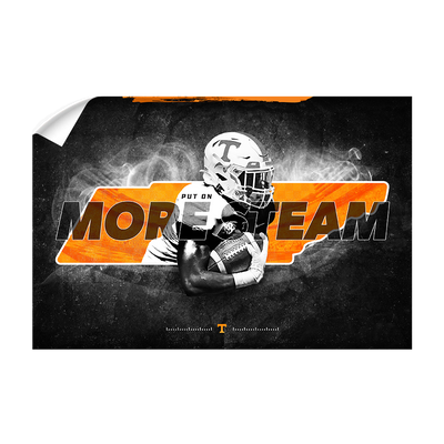 Tennessee Volunteers - More Steam - College Wall Art #Wall Decal