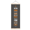 Tennessee Volunteers - Game Maxims Grey - College Wall Art #Hanging Canvas