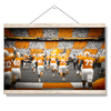 Tennessee Volunteers - Running Onto the Checkerboard Field - College Wall Art #Hanging Canvas