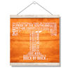 Tennessee Volunteers - Powered by the T - College Wall Art #Hanging Canvas