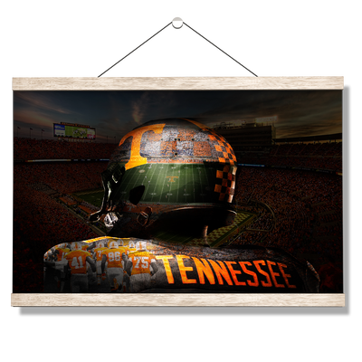 Tennessee Volunteers - TN Football - College Wall Art #Hanging Canvas