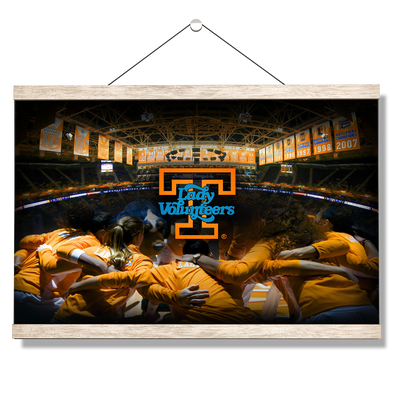 Tennessee Volunteers - Lady Vols - College Wall Art #Hanging Canvas