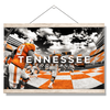 Tennessee Volunteers - Running Through the T Nike - College Wall Art #Hanging Canvas