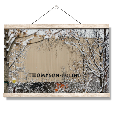 Tennessee Volunteers - Snowy Thompson-Boling - College Wall Art #Hanging Canvas