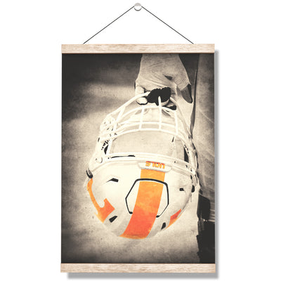 Tennessee Volunteers - Warrior Smokey Orange - College Wall Art #Hanging Canvas
