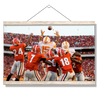 Tennessee Volunteers - The Catch TN vs. GA - College Wall Art #Hanging Canvas