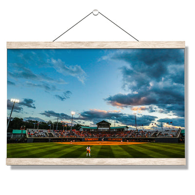 Tennessee Volunteers - Tennessee Softball - College Wall Art #Hanging Canvas