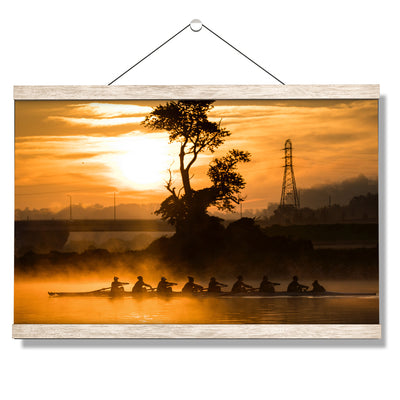 Tennessee Volunteers - Sunrise Row - College Wall Art #Hanging Canvas