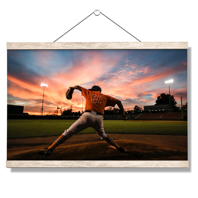 Tennessee Volunteers - Sunset Pitch - College Wall Art #Hanging Canvas
