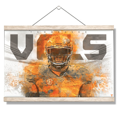 Tennessee Volunteers - Smokey VOLS 2017 - College Wall Art #Hanging Canvas
