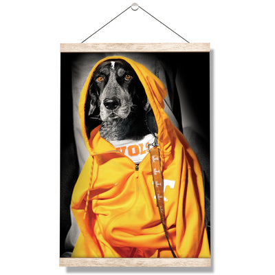 Tennessee Volunteers - Smokey Hood - College Wall Art #Hanging Canvas