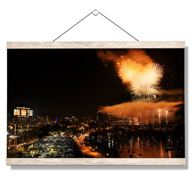 Tennessee Volunteers - Booms Day - College Wall Art #Hanging Canvas