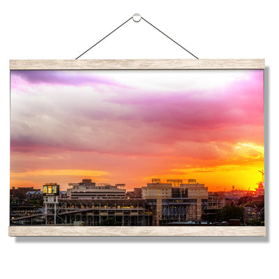 Tennessee Volunteers - Dynamic Neyland - College Wall Art #Hanging Canvas
