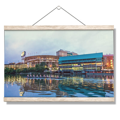 Tennessee Volunteers - Morning Row by Neyland - College Wall Art #Hanging Canvas