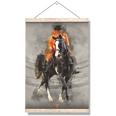 Tennessee Volunteers - TN Walking Horse - College Wall Art #Hanging Canvas