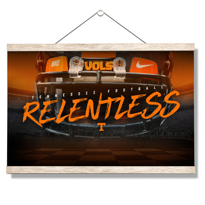 Tennessee Volunteers - Relentless - College Wall Art #Hanging Canvas