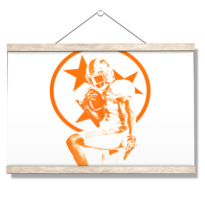 Tennessee Volunteers - Heisman Tri Star - College Wall Art #Hanging Canvas