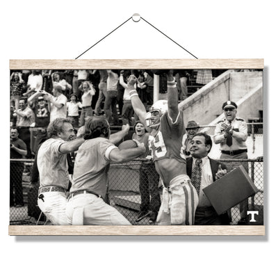 Tennessee Volunteers - Vintage Larry Seivers TD - College Wall Art #Hanging Canvas