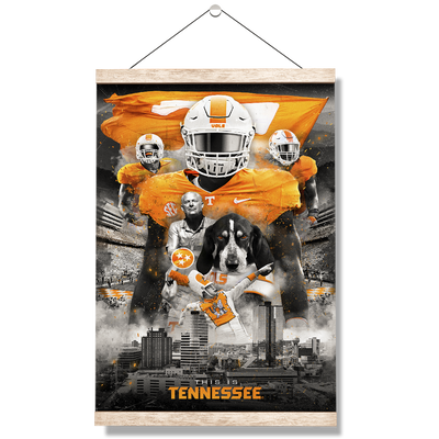 Tennessee Volunteers - This is Tennessee - College Wall Art #Hanging Canvas