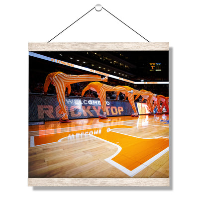 Tennessee Volunteers - Welcome to Rocky Top Basketball - College Wall Art #Hanging Canvas